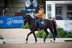 Den Dulk Nicole, NED, Wallace NOP<br /> World Equestrian Games - Tryon 2018<br /> © Hippo Foto - Sharon Vandeput<br /> 15/09/2018