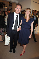 ORLANDO & CLEMENTINE FRASER at the annual Sotheby's Summer Party held at their auction rooms 34-35 New Bond Street, London W1 on 19th June 2008.<br /><br />NON EXCLUSIVE - WORLD RIGHTS