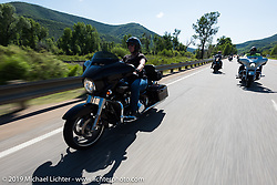 Rocky Mountain HOG Rally ride from Steamboat Springs, Colorado, to Baggs, Wyoming, USA. Friday June 9, 2017. Photography ©2017 Michael Lichter.