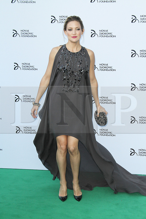 © Licensed to London News Pictures. Kate Hudson at the Novak Djokovic Foundation London gala dinner, The Roundhouse, London UK, 08 July 2013. Photo credit: Richard Goldschmidt/LNP