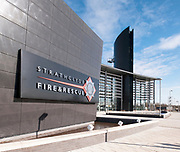 EXTERNAL VIEW - STRATHCLYDE FIRE & RESCUE HEADQUARTERS
