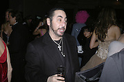 David Gest, Andy and Patti Wong's Chinese New Year of the Pig party. Madame Tussauds. ( Dress Burlesque, Debauched or Hollywood Black Tie. ) London. 27 January 2007.  -DO NOT ARCHIVE-© Copyright Photograph by Dafydd Jones. 248 Clapham Rd. London SW9 0PZ. Tel 0207 820 0771. www.dafjones.com.