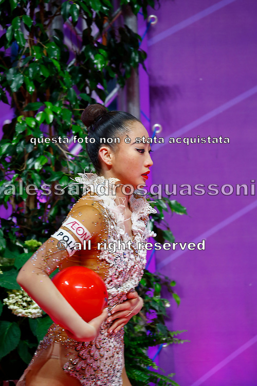 Oiva Chisaki at final the World Cup Pesaro on Virtifigo Arena,  May 30, 2021. Chisaki is a Japanese athlete born in 2001.