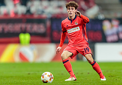 22.02.2018, Red Bull Arena, Salzburg, AUT, UEFA EL, FC Salzburg vs Real Sociedad, Sechzehntelfinale, Rueckspiel, im Bild Alvaro Odriozola (Real Sociedad) // during the UEFA Europa League Round of 32, 2nd Leg Match between FC Salzburg and Real Sociedad at the Red Bull Arena in Salzburg, Austria on 2018/02/22. EXPA Pictures © 2018, PhotoCredit: EXPA/ JFK