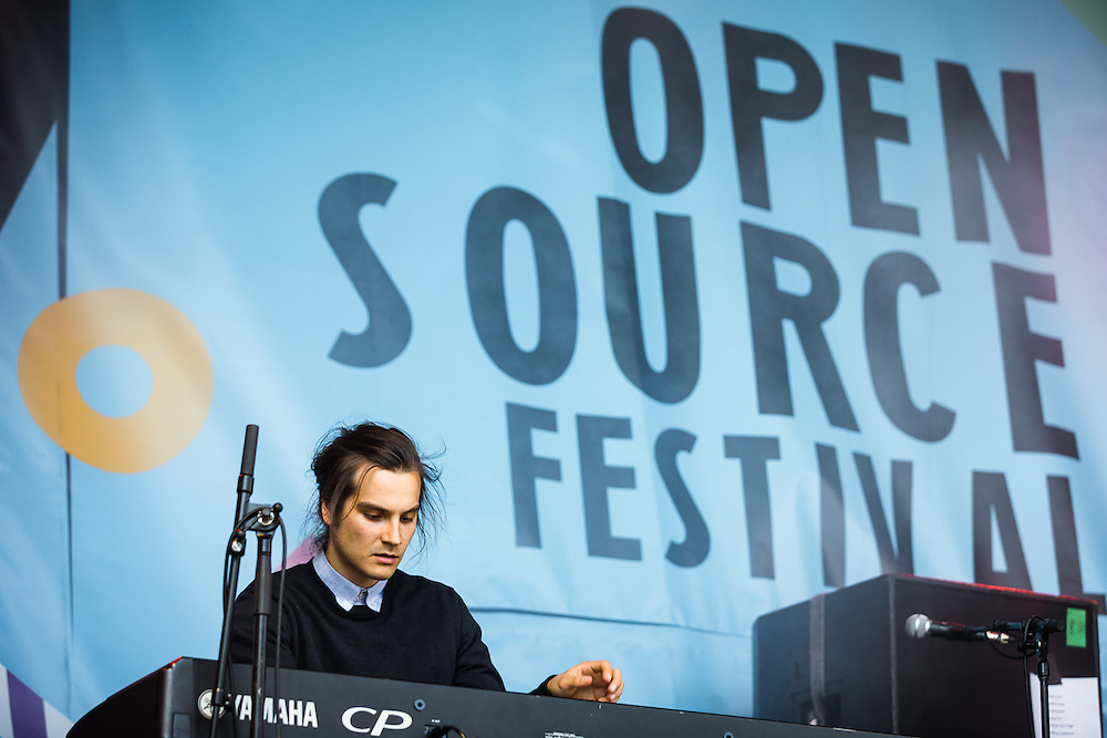 KAKKMADDAFAKKA live at Open Source Festival, Galopprennbahn Grafenberg in Duesseldorf. 2015-06-27.