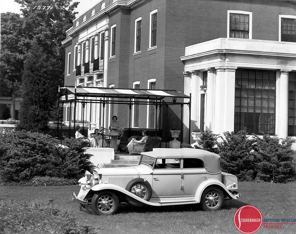 1932 Studebaker Commander Convertible Sedan.