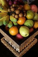 Fresh Tropical Fruit Display