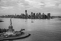 Lady Liberty & Lower Manhattan Skyline