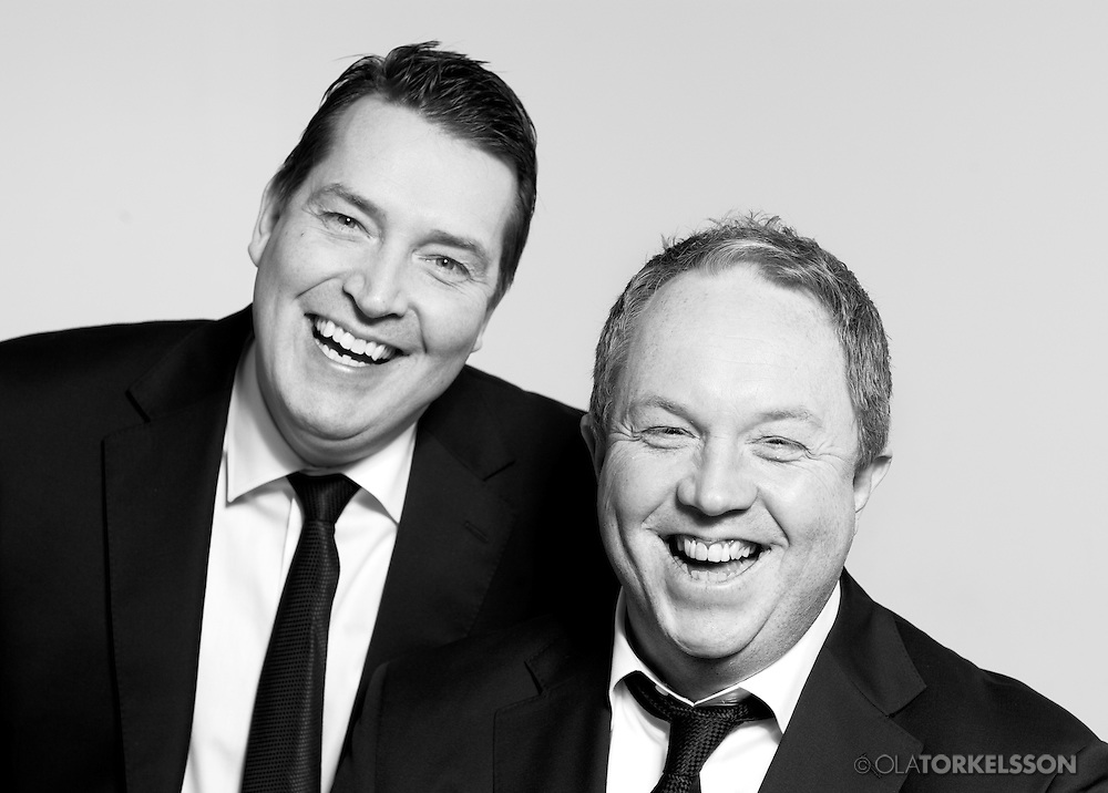 The comedians Anders Jansson och Johan Wester from Hipp Hipp-<br /> Photo Ola Torkelsson<br /> Copyright Ola Torkelsson©