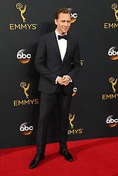 Tom Hiddleston  bei der Verleihung der 68. Primetime Emmy Awards in Los Angeles / 180916<br /> <br /> *** 68th Primetime Emmy Awards in Los Angeles, California on September 18th, 2016***