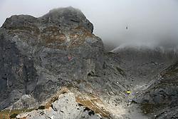 Mountain Dachstein, Austria, on October 30, 2008.  (Photo by Vid Ponikvar / Sportida)