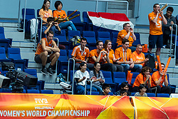 20-10-2018 JPN: Final World Championship Volleyball Women day 18, Yokohama<br /> China - Netherlands 3-0 / Dutch support, Tom Buijs & Marcel Balkestein