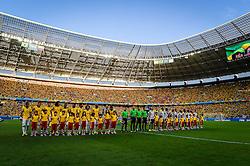 Seleções de Brasil e Colombia, válida pelas quartas de final da Copa do Mundo 2014, no Estádio Castelão, em Fortaleza-CE. FOTO: Jefferson Bernardes/ Agência Preview