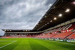 General View inside the Brittania Stadium - Mandatory byline: Rogan Thomson/JMP - 26/12/2015 - FOOTBALL - Britannia Stadium - Stoke, England - Stoke City v Manchester United - Barclays Premier League - Boxing Day Fixture.