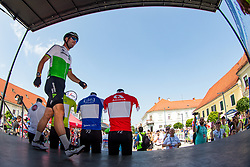 Mark Cavendish (GBR) of Team Dimension Data during 3rd Stage of 26th Tour of Slovenia 2019 cycling race between Zalec and Idrija (169,8 km), on June 21, 2019 in Slovenia. Photo by Matic Klansek Velej / Sportida