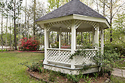 Wedding gazebo in Cypress Gardens April 9, 2014 in Moncks Corner, South Carolina.