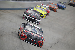 October 7, 2018 - Dover, Delaware, United States of America - Erik Jones (20) battles for position during the Gander Outdoors 400 at Dover International Speedway in Dover, Delaware. (Credit Image: © Justin R. Noe Asp Inc/ASP via ZUMA Wire)