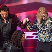 NLD/Hilversum/20131220 - Finale The Voice of Holland 2013, Marco borsato en ilse de Lange