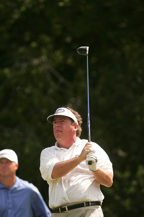 Joey Sindelar..2004 Colonial Invitational.Second Round.Colnial Country Club.Fort Worth, Texas.Friday, May 21 2004.photograph by Darren Carroll