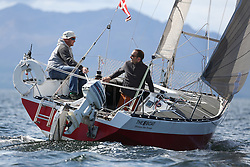 Peelport Clydeport, Largs Regatta Week 2014 Largs Sailing Club based at  Largs Yacht Haven <br /> <br /> Class 4, Excalibur, Brian Young