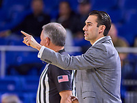 UAB Blazers head coach Robert Ehsan during the UAB Blazers at Middle Tennessee Blue Raiders college basketball game in Murfreesboro, Tennessee, Saturday, February, 15, 2020. Middle lost 79-66.<br /> Photo: Harrison McClary/All Tenn Sports