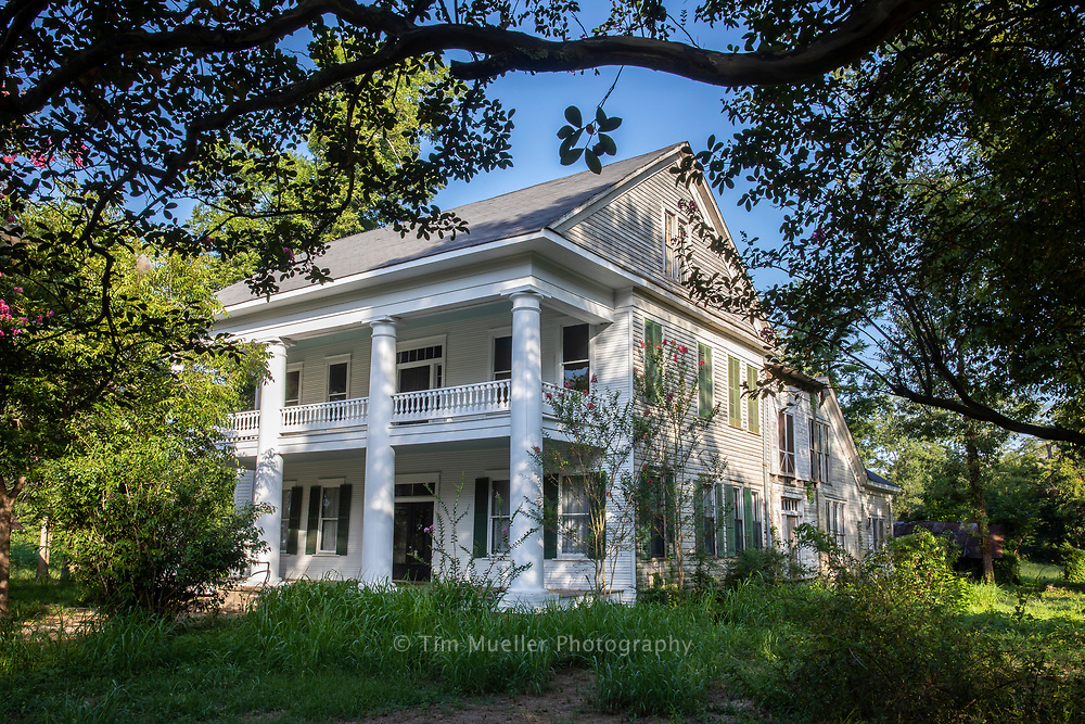 In Desoto parish the historic and beautiful village of Keachi, Louisiana is a place lined with plantation homes including the old Schuler-Cathey House.