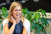 Koningin Maxima brengt werkbezoek aan GGZ Noord-Holland-Noord