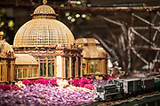 The Holiday Train show at the New York Botanical Gardens in The Bronx. (Photo by Ben Hider)
