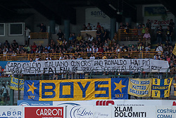 July 28, 2018 - Trento, TN, Italy - Parma Supporters during the Pre-Season friendly between Sampdoria and Parma, in Trento on July 28, 2018, Italy  (Credit Image: © Emmanuele Ciancaglini/NurPhoto via ZUMA Press)