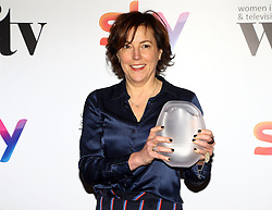 Nina Gold received the Argonon contribution to the medium award at the Women in Film & TV Awards at the Hilton hotel in central London.