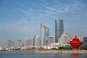 A view of the water-front property in Qingdao, Shandong Province, China on 23 August 2012. Qingdao is recognized as one of the most livable cities in China.