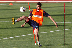 10.06.2010, Sportanlage, Potchefstroom, RSA, FIFA WM 2010, Training Spanien im Bild Spain's Alvaro Arbeloa, EXPA Pictures © 2010, PhotoCredit: EXPA/ Alterphotos/ Acero / SPORTIDA PHOTO AGENCY
