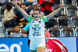 30-11-2019 JAP: Netherlands - Slovenia, Kumamoto<br /> First day 24th IHF Womenís Handball World Championship, Netherlands lost the first match against Slovenia with 26 - 32. / Tjasa Stanko #10 of Slovenia