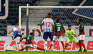 Pepe of Porto heads the ball to score his goal during the Portuguese League (Liga NOS) match between FC Porto and Maritimo at Estadio do Dragao, Porto, Portugal on 3 October 2020.