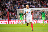 England (3) Ryan Bertrand during the FIFA World Cup Qualifier match between England and Slovenia at Wembley Stadium, London, England on 5 October 2017. Photo by Sebastian Frej.