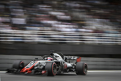 November 10, 2018 - Sao Paulo, Brazil - 08 GROSJEAN Romain (fra), Haas F1 Team VF-18 Ferrari, action during the 2018 Formula One World Championship, Brazil Grand Prix from November 08 to 11 in Sao Paulo, Brazil -  FIA Formula One World Championship 2018, Grand Prix of Brazil World Championship;2018;Grand Prix;Brazil  (Credit Image: © Hoch Zwei via ZUMA Wire)