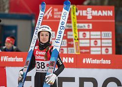 02.02.2019, Energie AG Skisprung Arena, Hinzenbach, AUT, FIS Weltcup Ski Sprung, Damen, Wertungsdurchgang, im Bild Juliane Seyfarth (GER) // Juliane Seyfarth (GER) during the woman's Competition Jump of FIS Ski Jumping World Cup at the Energie AG Skisprung Arena in Hinzenbach, Austria on 2019/02/02. EXPA Pictures © 2019, PhotoCredit: EXPA/ Reinhard Eisenbauer