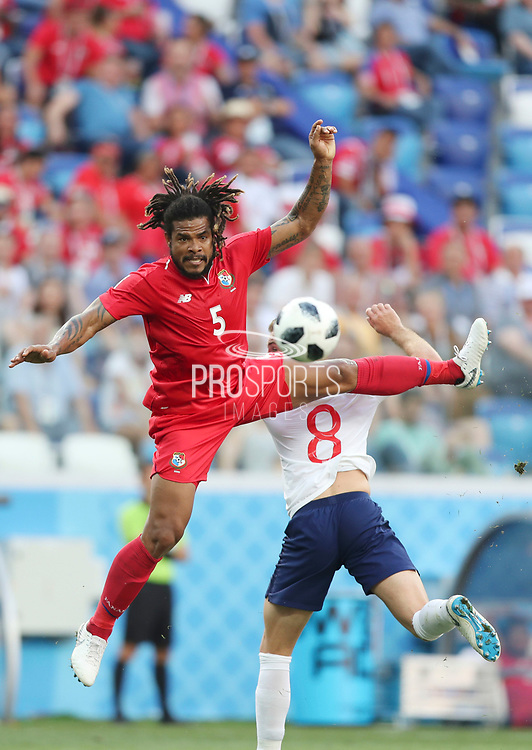 Roman Torres of Panama during the 2018 FIFA World Cup Russia, Group G football match between England and Panama on June 24, 2018 at Nizhny Novgorod Stadium in Nizhny Novgorod, Russia - Photo Tarso Sarraf / FramePhoto / ProSportsImages / DPPI