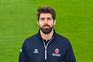 Jamie Thorpe head shot at Somerset County Cricket Club at the Cooper Associates County Ground, Taunton, United Kingdom on 11 April 2018. Picture by Graham Hunt.