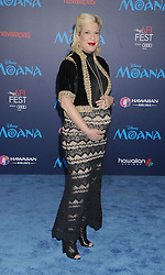 November 14, 2016 - Los Angeles, California, United States - November 14th 2016 - Los Angeles California USA -   Actress TORI SPELLING at  the Disney World Premiere ''Moana''  held at the El Capitan Theater, Hollywood,  CA (Credit Image: © Paul Fenton via ZUMA Wire)