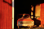 Red Barn, Red Truck, Hudson Valley NY
