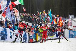Lisa Theresa Hauser (AUT) during the Mixed Relay 2x 6 km / 2x 7,5 km at day 3 of IBU Biathlon World Cup 2019/20 Pokljuka, on January 23, 2020 in Rudno polje, Pokljuka, Pokljuka, Slovenia. Photo by Peter Podobnik / Sportida
