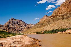 Scenic, Grand Canyon, Colorado River, Arizona, AZ, cliffs, landscape, horizontal, arid, erosion, nature, muddy water, Image nv453-18771.Photo copyright: Lee Foster, www.fostertravel.com, lee@fostertravel.com, 510-549-2202