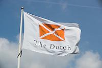 SPIJK - Vlag met logo , Golfbaan THE DUTCH, COPYRIGHT KOEN SUYK