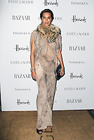 LONDON - OCTOBER 31: Yasmin Le Bon attended the Harper's Bazaar Women of the Year Awards at Claridge's Hotel, London, UK. October 31, 2012. (Photo by Richard Goldschmidt)