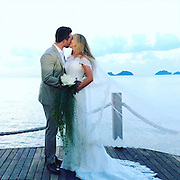 Is this the world's most stomach-churningly healthy wedding? Nutritionist bride's 'clean' nuptials involve sunrise yoga, sugar-free menu and organic wine<br /> <br /> When it comes to weddings, sugar-free meals and yoga are not usually the first words that come to mind.<br /> But Australian nutritionist Jessica Sepel, 26, and her new husband Dean Steingold, 30, wanted to prove their healthy lifestyle didn't need to be placed on hold just because they were getting married. <br /> Ms Sepel, who married Mr Steingold on Sunday in an intimate and picturesque Thai ceremony, made sure her wedding day menu was made up of the wholesome and clean foods she and her husband are passionate about.<br /> <br /> 'We wanted a healthy wedding because both Dean and I are committed to a healthy lifestyle...it was important that our wedding reflected this aspect of our lives,'<br /> <br /> 'We also wanted everyone to feel great - something that is easy to do if you're eating the right foods.'<br /> Instead of a traditional breakfast buffet with pastries and croissants, the health conscious bride made sure her guests were offered both savoury and sweet options each morning for breakfast, including sugar-free bliss balls and banana-date-walnut muffins from her recipe book, The Healthy Life.<br /> <br /> They were also served steamed veggies for dinner, fresh fruit for dessert and had access to an impressive vitamin juice station, where healthy shots from a range of different vegetables were set out - all while looking out over idyllic Thai views. <br /> 'On the wedding night there were a range of dishes, including Thai green papaya salad, roasted brussel sprouts, grilled local white snow fish and fresh fruit for dessert,' Ms Sepel said, who admits treating herself to a glass of wine as well. <br /> 'I don't usually drink, but I did enjoy a glass or two of certified organic Australian Chardonnay from Organic One,' she said, 'There are no chemicals used in the manufacturing process which me