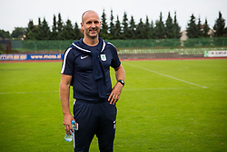 Ilija Stolica during training of NK Olimpija Ljubljana , on June 13, 2018 in Sports park Siska, Ljubljana, Ljubljana, Slovenia. Photo by Ziga Zupan / Sportida
