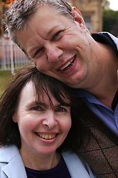 Portrait of a man and woman; Community Care Project users,
