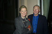 Sir Terence and Lady Conran, Elle Decoration Design Awards, The Wallace Collection, Hertford House, Manchester Square, London. 5 November 2007. -DO NOT ARCHIVE-© Copyright Photograph by Dafydd Jones. 248 Clapham Rd. London SW9 0PZ. Tel 0207 820 0771. www.dafjones.com.