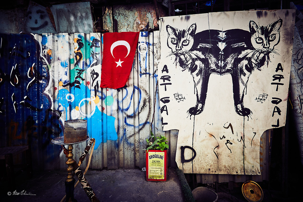 Street photography Istanbul Turkey / Art Space Travel photography of Mike Mulcaire photographer